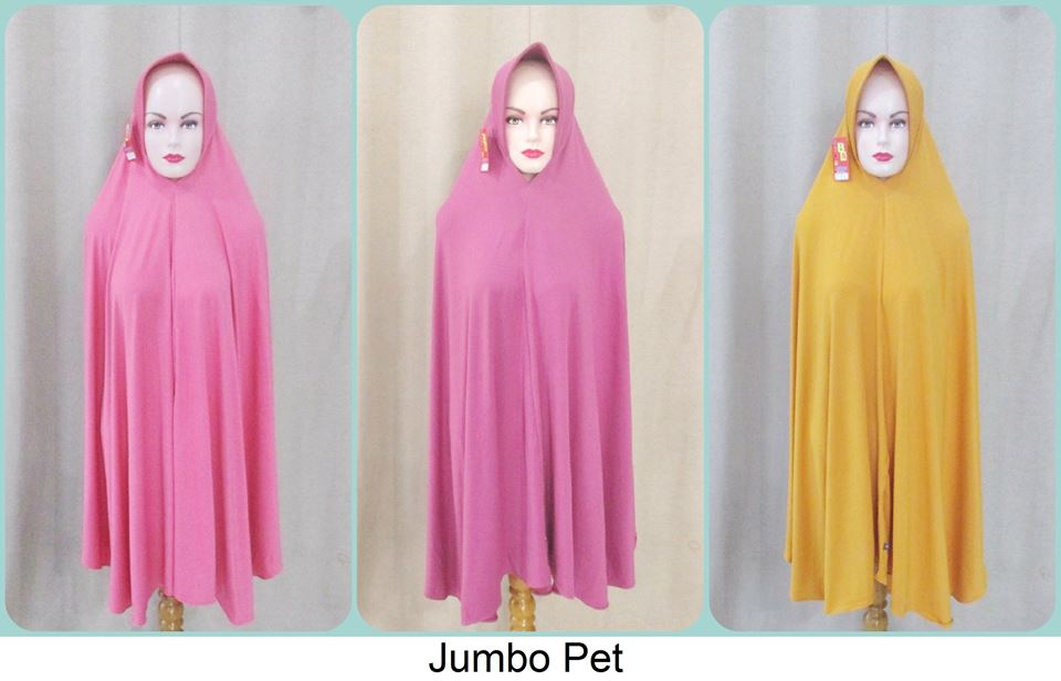 Supplier jilbab jumbo pet