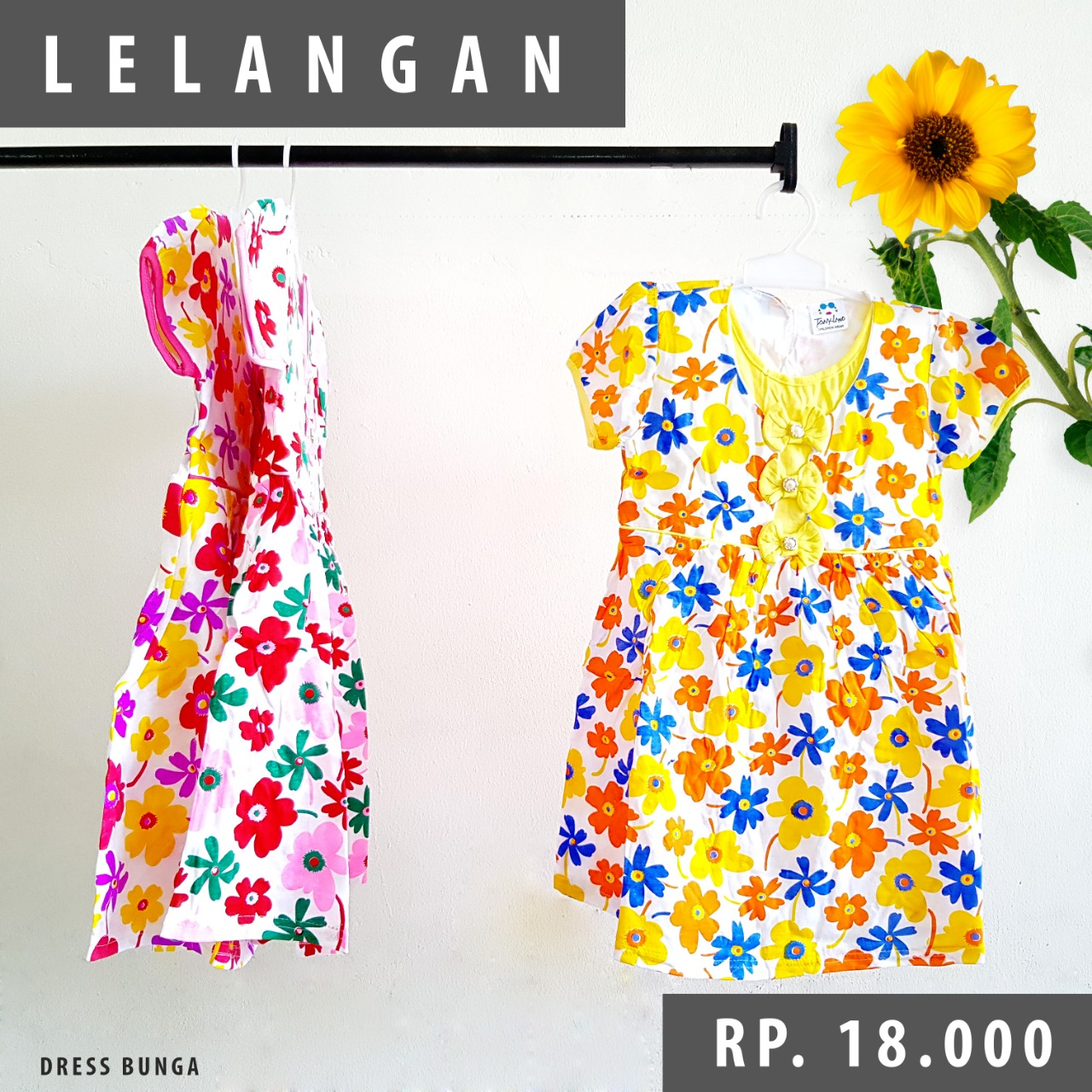 Dress Bunga Anak