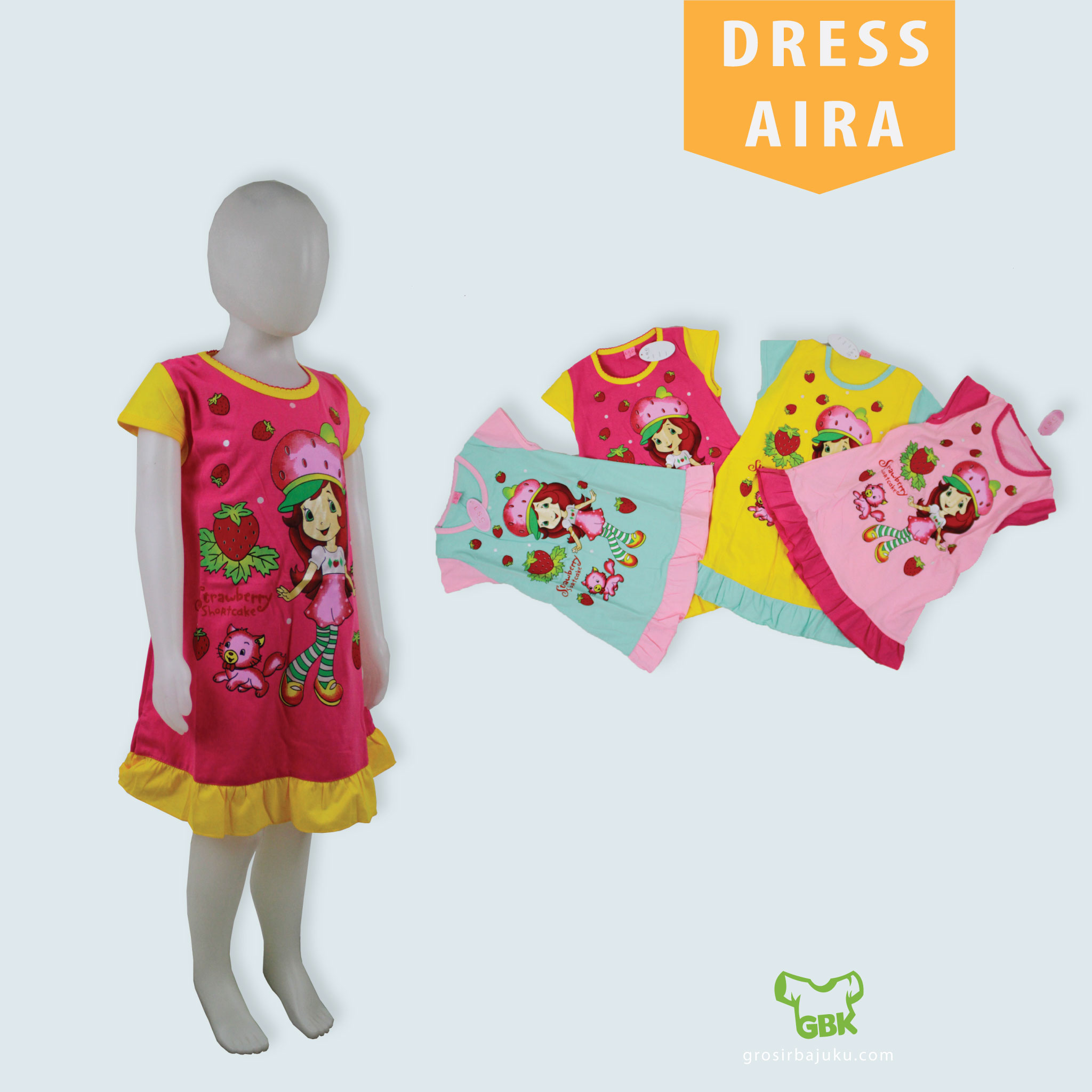 Dress Aira Anak Kekinian