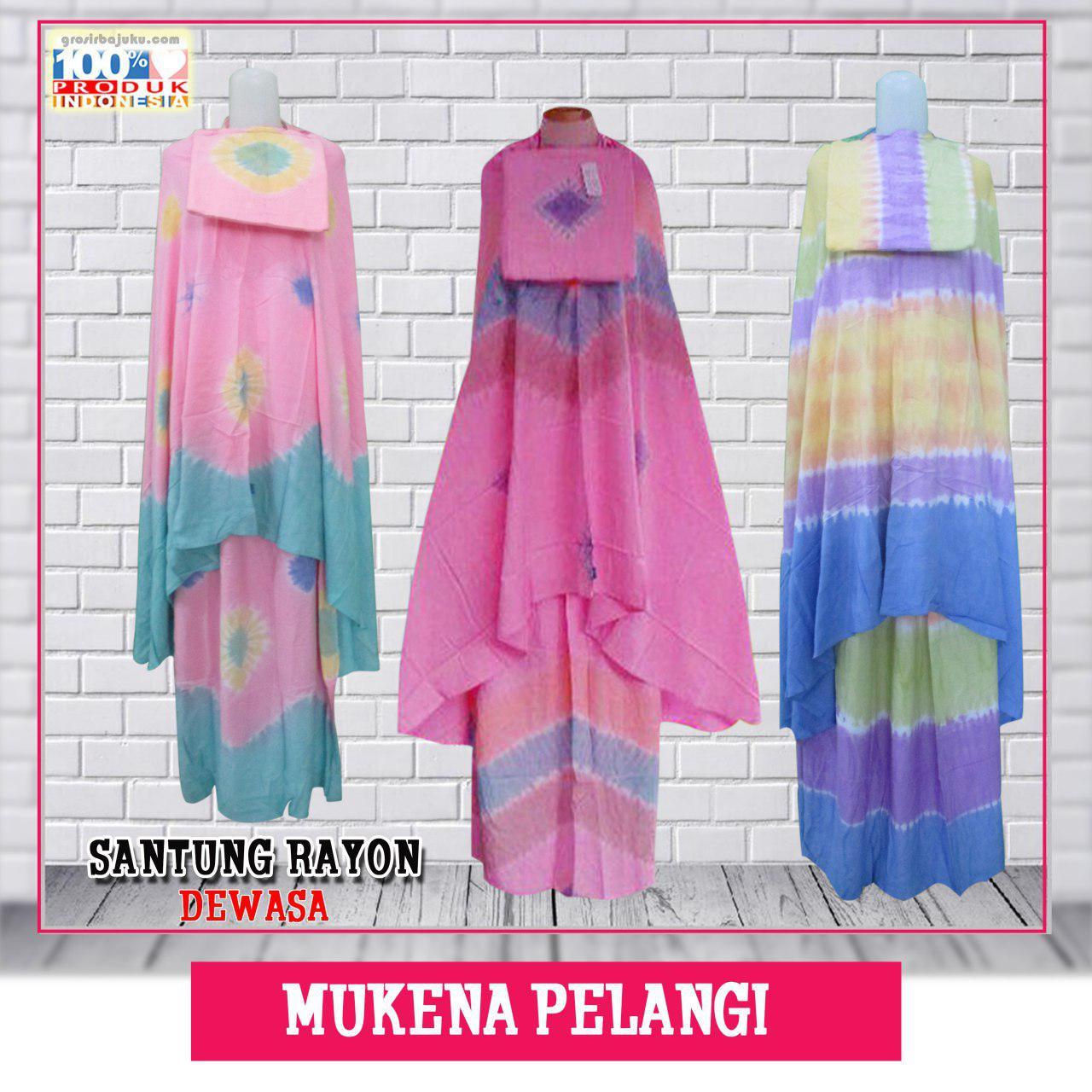 Mukena Bali ANak Dewasa